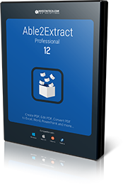 Able2Extract 12 software.